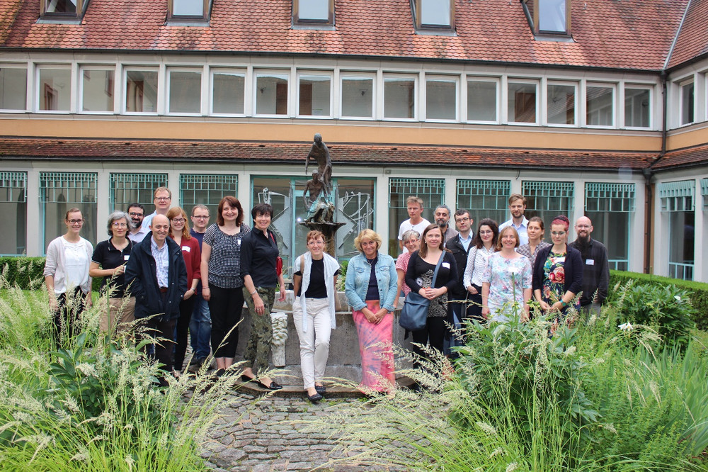 The Biotech Hub workshop participants enjoyed the quiet hospital venue in Schmerlenbach and experienced a very productive and inspiring workshop (Source: FNR/Vashev)