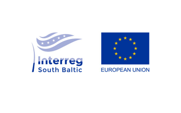 The project is funded by the Interreg South Baltic Programme, co-funded by the European Union fund ERDF.