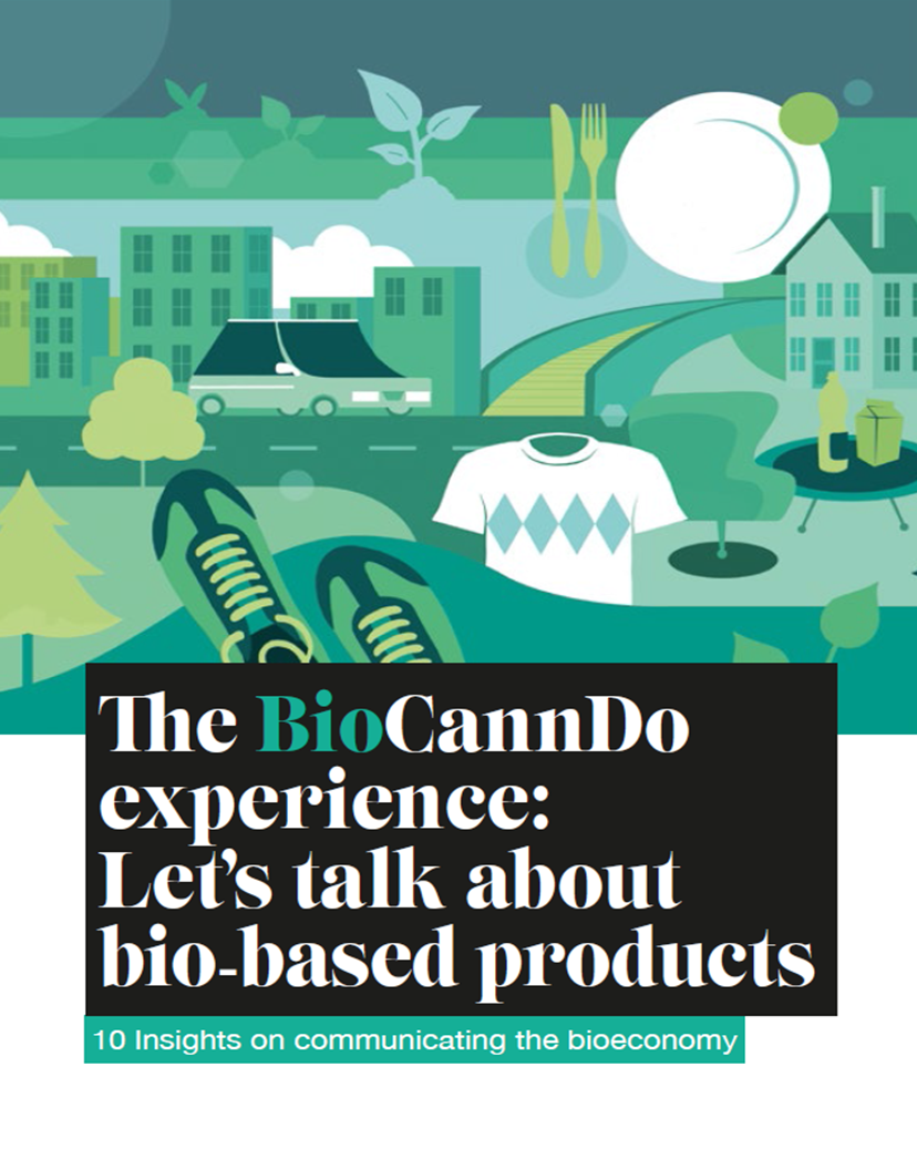 The BioCannDo experience: Let's talk about bio-based products